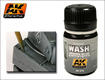 Wash dla Panzer Grey (AK 070)  / 35ml